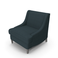 Hickory White Armchair PNG & PSD Images