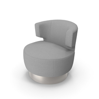 Holly Hunt Mesa Occasional Chair PNG & PSD Images