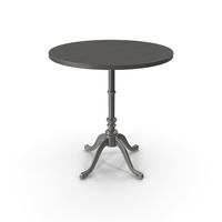 Round Cafe Table PNG & PSD Images