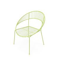 Round Metal Chair PNG & PSD Images
