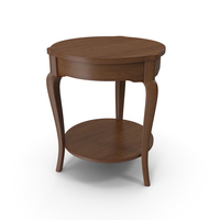Round Side Table PNG & PSD Images