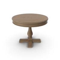 Round Wooden Table Moonzana PNG & PSD Images