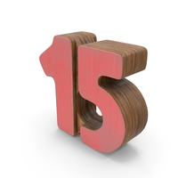 15 Wooden with Paint PNG & PSD Images