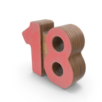 18 Wooden with Paint PNG & PSD Images