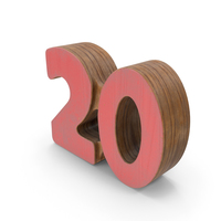 20 Wooden with Paint PNG & PSD Images