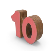 10 Wooden with Paint PNG & PSD Images