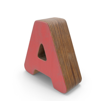 A Wooden with Paint PNG & PSD Images