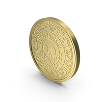 Gold Coin Clean PNG & PSD Images