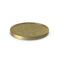Gold Coin Lay Clean PNG & PSD Images