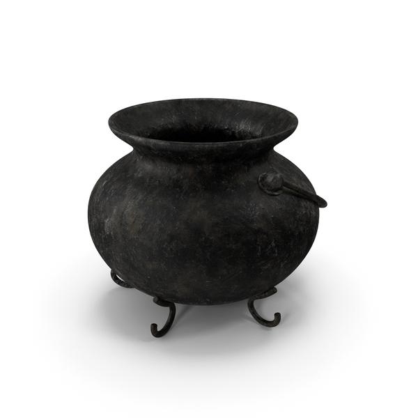 Pot Old Metal PNG & PSD Images