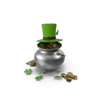 St. Patrick's Day Accessories Set PNG & PSD Images