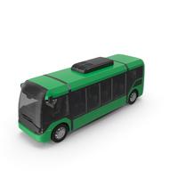 Green No Logo Vero E Bus PNG & PSD Images