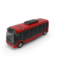 Red Vero E Bus PNG & PSD Images