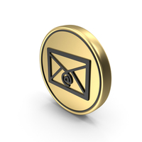 Mail Coin Logo Icon PNG & PSD Images