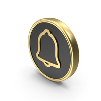 Bell Coin Logo Icon PNG & PSD Images