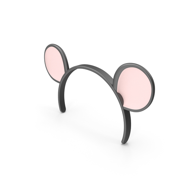 Mouse Ears Headband PNG & PSD Images