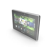 BlackBerry 4G LTE PlayBook & PlayBook PNG & PSD Images