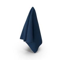 Blue Hanging Towel PNG & PSD Images