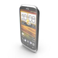 HTC Desire V Black PNG & PSD Images