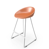 Pedrali Gliss Bar Stool PNG & PSD Images