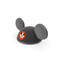 Mouse Ears Black Hat PNG & PSD Images