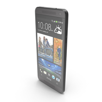 HTC One mini Stealth Black PNG & PSD Images