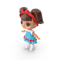 LOL Doll Dressed PNG & PSD Images