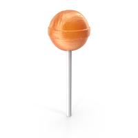 Lollipop Orange PNG & PSD Images