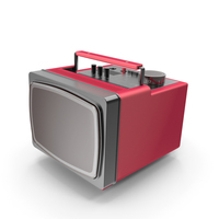 Old Portable TV PNG & PSD Images