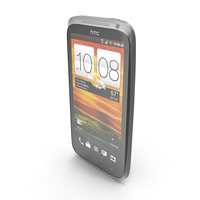 HTC One X+ Black and White PNG & PSD Images