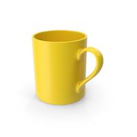 Mug Yellow PNG & PSD Images