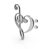Music Heart PNG & PSD Images