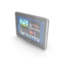 Samsung Galaxy Note 10.1 N8000 & N8010 Black PNG & PSD Images