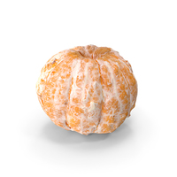 Peeled Clementine PNG & PSD Images