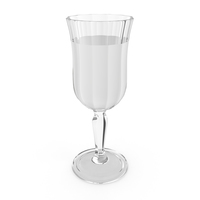 Crystal Glass With Water PNG & PSD Images