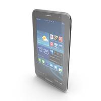 Samsung Galaxy Tab 2 7.0 P3100 & P3110 PNG & PSD Images