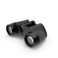 Antique Black Military Binoculars PNG & PSD Images
