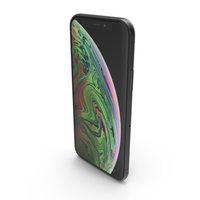 Apple iPhone XS Space Grey PNG & PSD Images