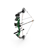 Armed Compound Bow Generic PNG & PSD Images