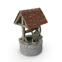 Medieval Stone Water Well PNG & PSD Images