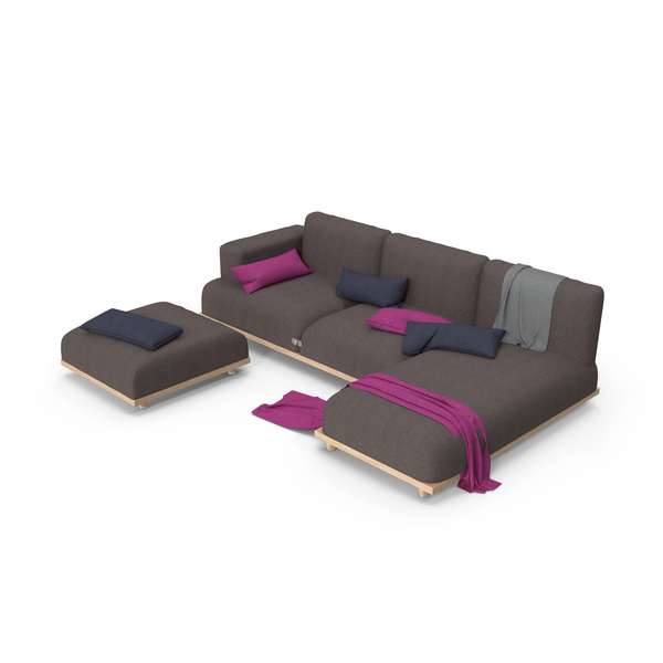 Italian Sofa PNG & PSD Images