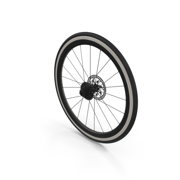 Bicycle Rear Wheel PNG & PSD Images