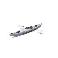 White Kayak PNG & PSD Images