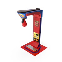Boxing Arcade Machine PNG & PSD Images