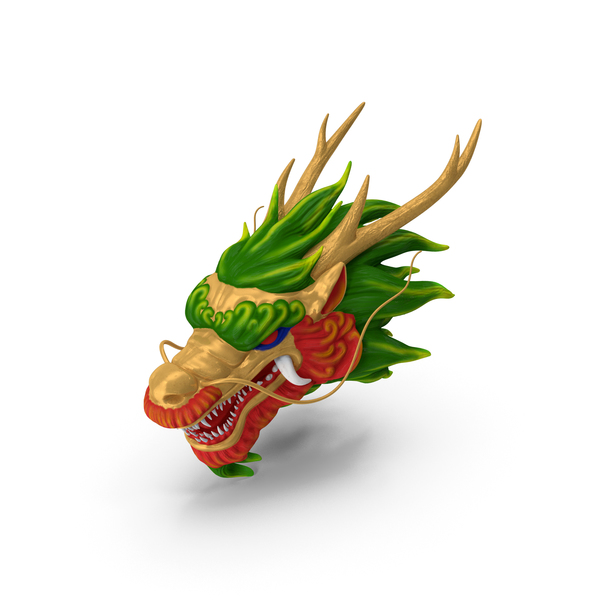 Chinese Dragon Head PNG & PSD Images