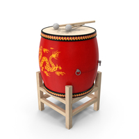 Chinese Drum PNG & PSD Images