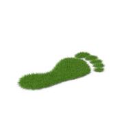 Grass Footprint PNG & PSD Images