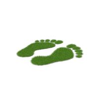 Grass Footprints PNG & PSD Images