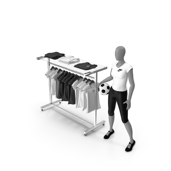 Mini Stand With Mannequin PNG & PSD Images