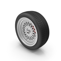 BBS Wheel and Goodyear Tire PNG & PSD Images